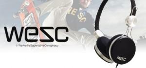 vente privée casque Wesc juin 2013 sur privatesportshop