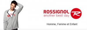 Vente privée Rossignol juillet 2013 sur showroomprive.com
